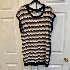 Trina Turk Brown Knit Dress